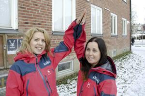 Emma Arnesson (till höger, på bilden med kollegan Anne Lundberg) var en av 22 personer från