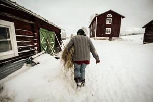 – Det var lite ängsligt att flytta hit. Men förändringen har inte blivit så stor som jag trodde, säger Renee om att flytta från landsbygden utanför Köpenhamn till Söderhögen.