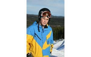 Niklas Norberg segrade i skidklassen. foto: andreas tinnerholm