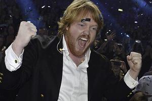 Martin Almgren, vinnare av Idol 2015.