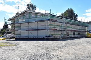 Själevads Bygg bygger kontorshotell med tolv kontor, i anslutning till sin egen fastighet.