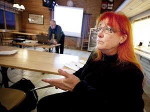 Ingrid Gulin, boende i Junsele, vill inte ha vargarna kvar i området.