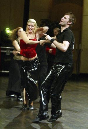 2003-11-08   Altirasnurren dans tävling Tonhallen Jimmy Englund och Kristina Persson , Altira
