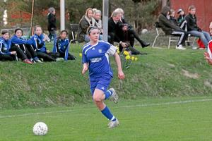Sabina Håkansson gör flest mål. Foto: Niclas Bergwall