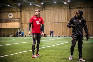 Tom Pettersson och Fouad Bachirou.