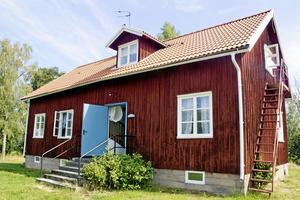 Vandrarhemmet på Ridön.