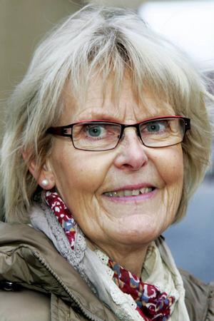Ulla Sjödahl, 67 år, Torvalla:– Jag vet inte. Det får inte bli sämre. Sjukhushuset i Östersund måste finnas med nuvarande kapacitet.