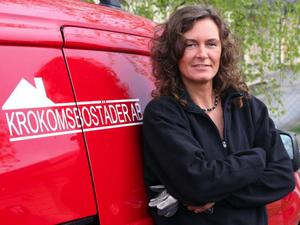 Annelie Nilsson heter Krokomsbostäders första kvinnliga reparatör. foto: matsåke persson