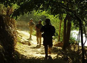 Här avgörs det. I Afghanistan byggs ett nytt Vietnam och ännu ett meningslöst krig som inte kan vinnas vecklar ut sig. Obama flyttar trupper från Irak till Afghanistan. Det är där kriget mot terror ska avgöras.