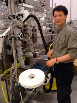Snusabs nye platschef Geng Chang hyser stor tilltro till företagets framtid. Foto: Ingvar Ericsson