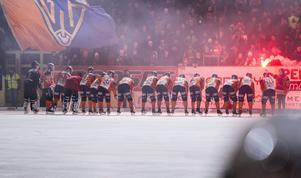 Förfarandet vid Bollnäs hemmamatcher har en lång tradition...
