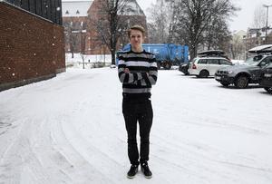 Alex Nilsson, ordförande i LUF Västernorrland.