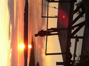En härlig kväll med fiske ute på Ängsö