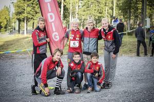 Det segrande laget Freidig bestod av ungdomare mellan 13–16 år.