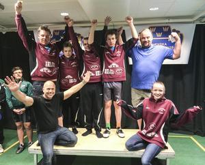 Bergsjö AK:s ungdomslag lyfte hem SM-guldet i Örebro.