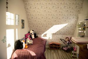 Det senaste renoveringsprojektet är lillasyster Ellies rum.