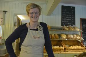 Sara Hugg är klar för en säsong i Sundsvalls golfklubbs restaurang.