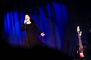 """Malin Jungbäck tar i när hon sjunger Charlotte Perellis  """"Hero""""."""