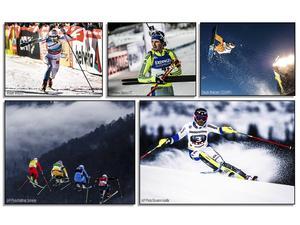 Fredrik Lindström, Stina Nilsson, Kajsa Kling, Sven Thorgren, Anna Holmlund och Stina Nilsson kommer kriga i världscuperna i helgen.