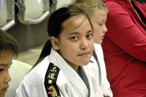 Nya verktyg. Jag har lärt mig en del ny teknik, säger Martina Lomlaw Fredriksson, Väsby Judo.