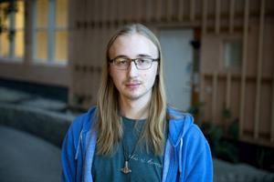 Tim Forslund gick naturvetenskapligt program på gymnasiet och nu läser han andra året på civilingenjörsutbildningen. I lördags passade han på att testa sitt IQ-värde.