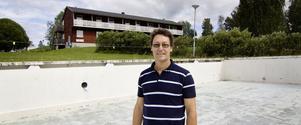 Jimmy Österholm har en dröm om att öppna ett tempererat bad på Bolleberget.