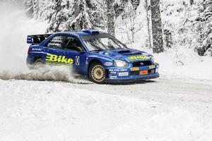 Jerker Axelsson blir en av favoriterna när Östersund Winter Rally avgörs i Jämtland om tre veckor.