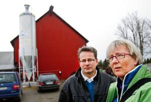 Håkan Nilsson, ordförande och Trine Amundsen, regionchef LRF Jämtland diskuterade igår lantbrukets tillstånd och kommande utveckling.