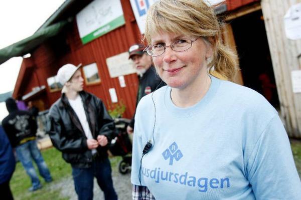 """""""Vi ska ta vara på det som finns här på landbygden och det är väl det som är syftet med den här dagen"""". Det säger Husdjursdagens grundare, Karin Dahlén."""