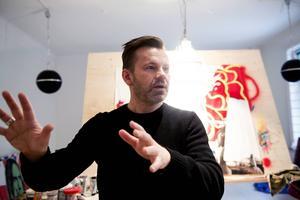 Christian Beijer, konstnär och profil från Sundsvall.