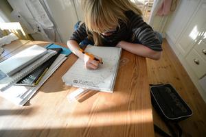 Läxor bör helst vara av repetitiv natur, såsom exempelvis att träna på multiplikationstabell, alfabet eller glosor, tycker insändaren.