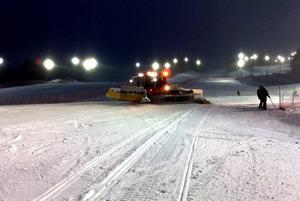 Inför Luciahelgens världscuptävlingar i Åre hade tävlingsledningen vägsalt i beredskap. Men i sista stund kylde det på och salthinkarna behövde aldrig tas fram.