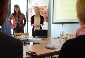 Folkhälsa. Cecilia Karlsson och Louise Källbom berättar om sociala investeringsfonden i Norrköping.
