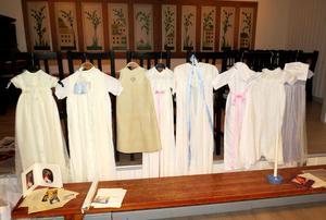 Dopklänningar från familjer i Bingsjö med omnejd.