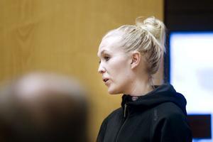 Maelona Williams, handledare på Fjärran Höjderbadet, vars personliga tränare coachar högskolestudenterna.