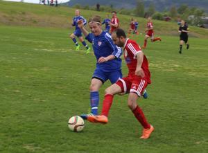 Hazem Aden gjorde Hedes enda mål i matchen.