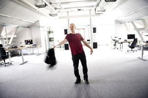 Falubon Hållbus Totte Mattsson ser fram emot skivsläpp med sina Hedningar.