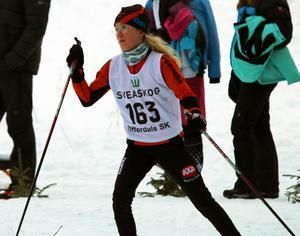 Filipa Bernsten, Spikbodarna, tävlade i D12.