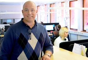 Petter Holmberg är vd för Gävleborgs snabbast växande företag. Under tredje verksamhetsåret i Gävle ska nya kunder lockas till Geomatikk samtidigt som den interna organisationen ska göras ännu mer effektiv.