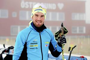 Fredrik Lindström har tränat i två veckor och är ganska hoppfull att han kommer att kunna tävla i VM på hemmaplan.