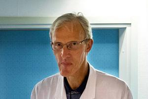 Leif Israelsson, verksamhetschef för Kirurgicentrum, vill bli ny länsklinikchef för Kirurgi, Urologi och ÖHN.