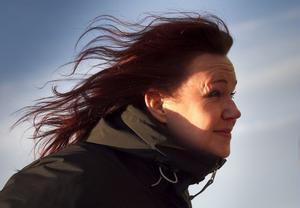 N: Inte lätt att ta sig fram i detta noraväär, tycker Cia Olsson.