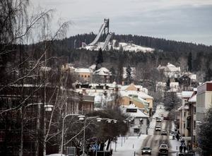 Vy över Falun. Foto: Christian Larsen