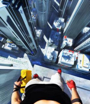 Att se spelet ur huvudpersonens synfält gör att man får en begränsad koll på omgivningarna, vilket kan vara besvärligt i trängda situationer.