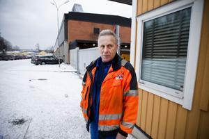 Curt Carlsson har arbetat på Cargotec Hiab i 39 år.
