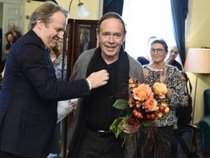 Skådespelaren Per Mattsson tilldelas årets O'Neill-pris på Dramaten i Stockholm.