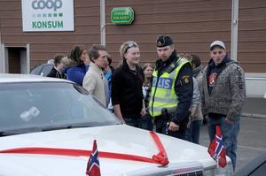 Polisens största problem under Skärtorsdagen var den massiva trafiken.