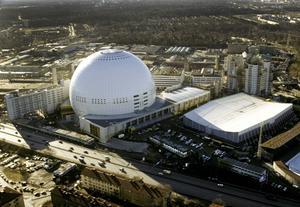 Eurovision kommer till Globen i Stockholm.