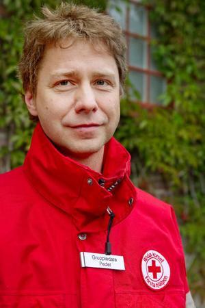 Nästa lördag riskerar Peder Molin att förlora sin sjuksköterskelegitimation på motortävlingen STCC på Frösön.