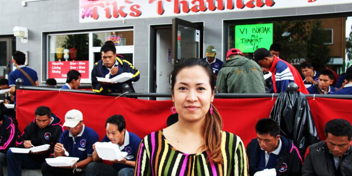 tiks thai timrå meny